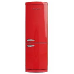 frigo rosso vintage bompiani